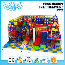 Newest customized attractive children indoor playground