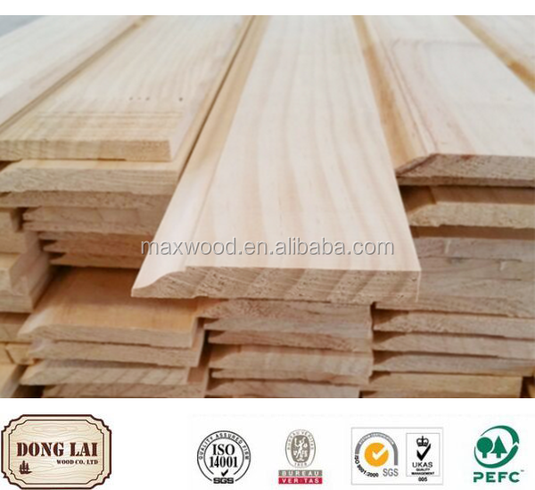 Wood Material finger jointed skirting boards