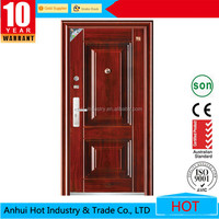 Main Gate Designs Stainless Steel Entry Doors / Security Steel Doors for Home