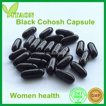 500 mg ISO,GMP Certificate and OEM Private Label Black Cohosh Root Extract Capsule for Women Health