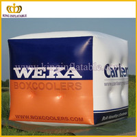 Inflatable outdoor cube model, advertising inflatable product, inflated cube model