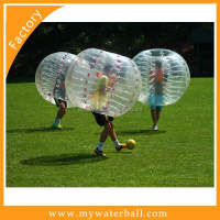 Bumper Ball Game/Outdoor grass inflatable soccer bubble ball