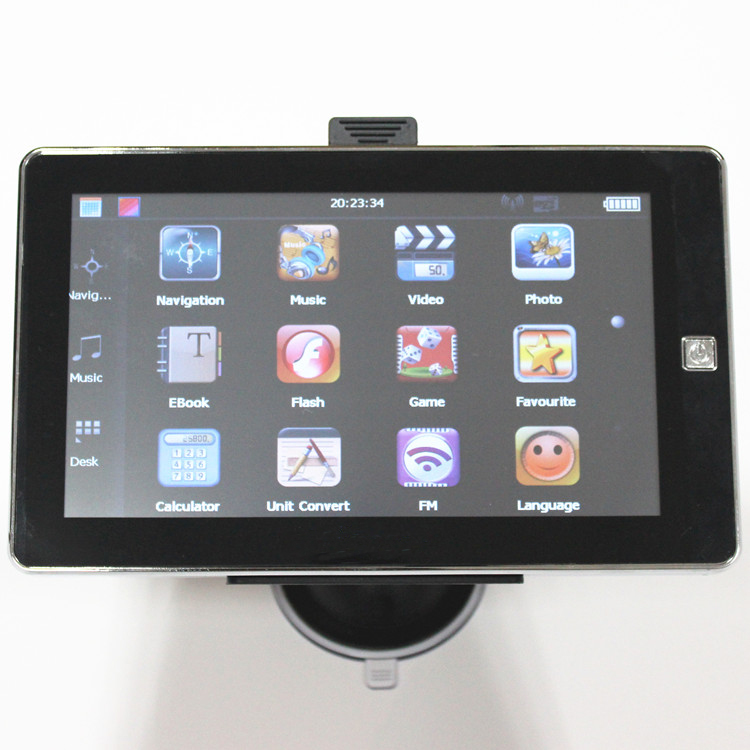 7inch mstar gps navigation 800mhz msb2531 Car GPS DVR Navigation Russia/Belarus/Spain/ UK/USA+Canada/Israel Free map