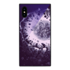 dreamlike design mobile phone blue ray tempered glass printed phone case cover for iphone x