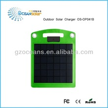 OS-OP041B outdoor solar charger mobile phone charger compatible with smart phone or non-samrt phone