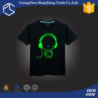 Custom design cute t shirt led