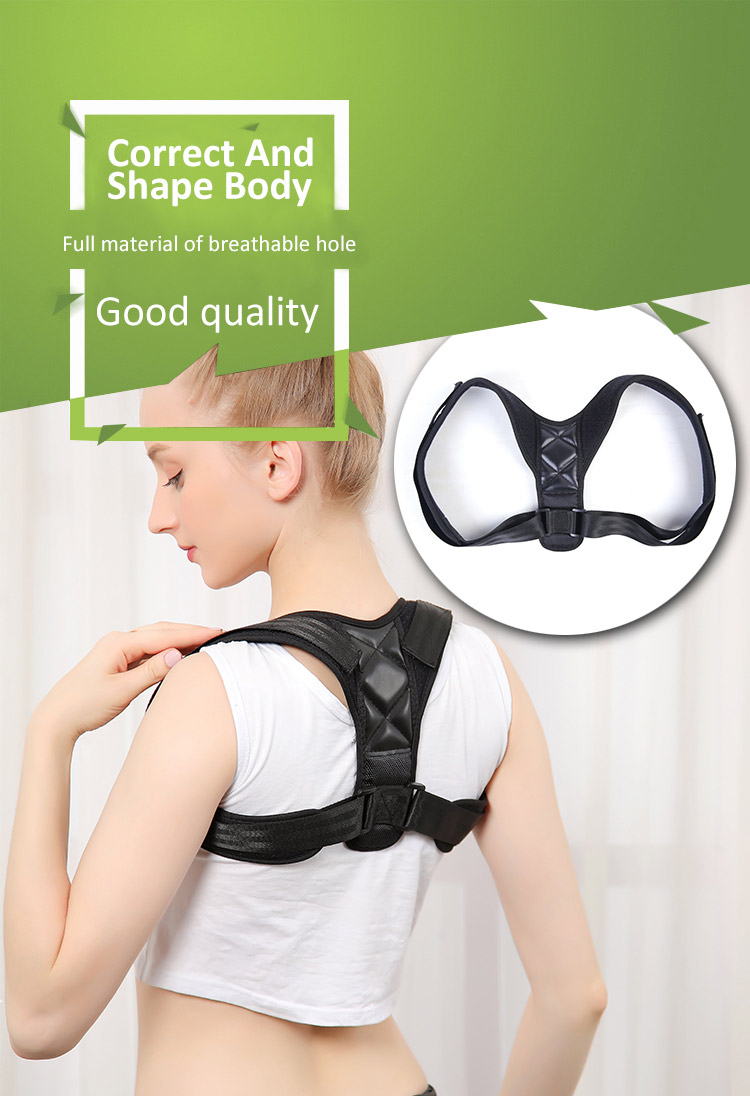 ZHIZIN Posture Corrector Spinal Support -Physical Therapy Posture Brace for Men or Women - Back, Shoulder, and Neck Pain Relief