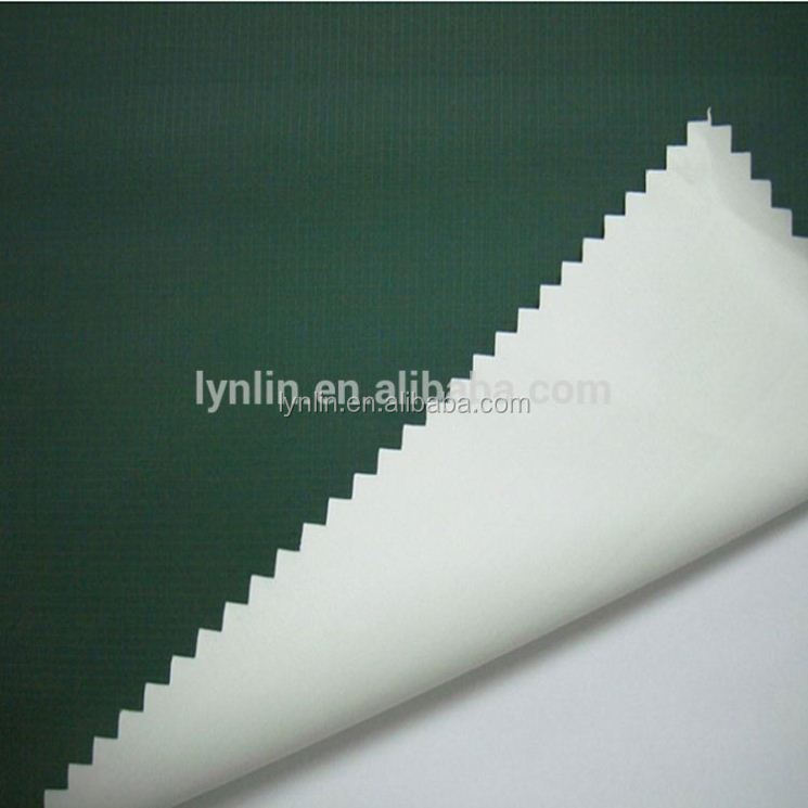 Wholesale Polyester 260T Full Dull Pongee,Milky Coating Fabric For Jacket