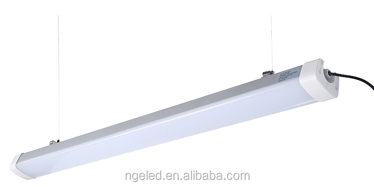 100lm/w IP65 LED batten aluminum Ip65 LED batten light