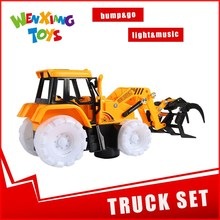 truck model electronic toy mobile crane set toy