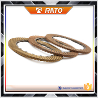 Factory wholesale motorcycle clutch friction plate for bicycle motor