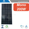 Best price mono solar panel / solar energy 200watt 72pcs mono solar cell SL5M72-200W