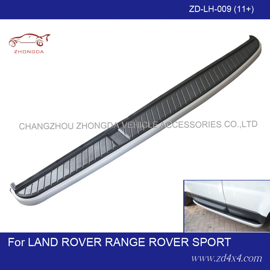 Land Rover Range Rover Sport side step,running board for range rover sport,RANGE ROVER SPORT foot rest/foot plate