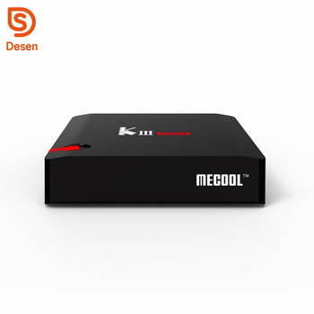 2018 New High End Set-Top Box KIII Pro S912 Combo TV box 3G 16G Android 6.0 DVB S2 T2 4k Satellite Receiver