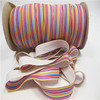 2015 hot selling Heat transfer Long striped Fold Elastic Band