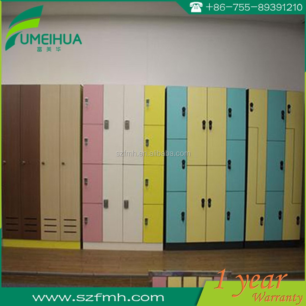 4 door lockers with combination lock for gym club