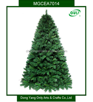 High Quality 7ft Dense PVC Artificial Xmas Tree for Christmas Decoration
