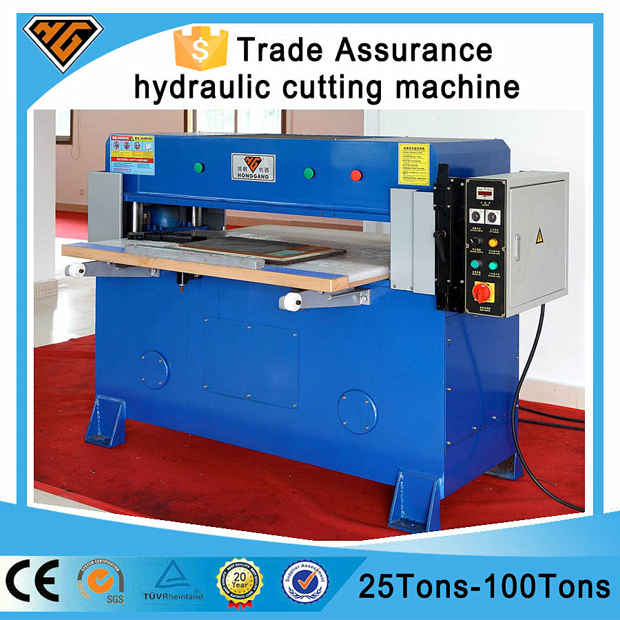 hydraulic nylon luggage bag making machine