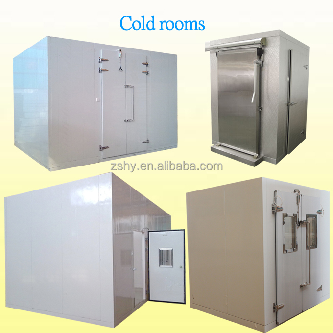 Freezing chamber for frozen meat storage