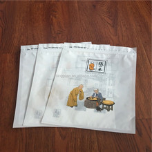 China manufacturer clear logo custom cpp pet plastic fish food bag