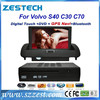 ZESTECH double din auto radio gps car dvd car gps for Volvo S40 with High Quality