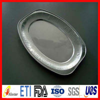 Disposable aluminum turkey tray