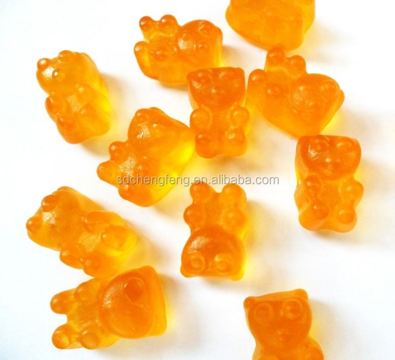 Orange/Strawberry/Mango Flavor Dietary Fiber Soft Gummy Candy