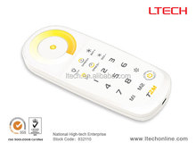 2.4G LED Touch dimmer/ two colors zone controller 8 zones LED CT universal remote controls