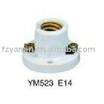 CE PORCELAIN LAMP HOLDER E14