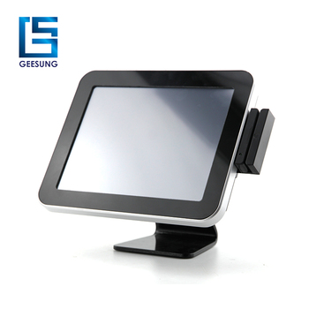 Hot selling 12 inch touch screen retail windows pos system