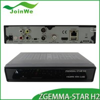 hd satellite receiver dvb s2 dvb t2 twin tuner sharing zgemma star satellite TV zgemma-star H2