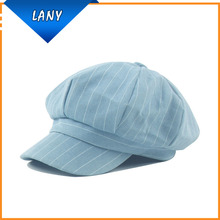 Hot selling cotton octagonal cap outdoor warm hunting hat