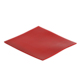 Smooth Finished or fabric Rubber Flooring 1mm Thickness 65Shore A Red Colour SBR Rubber Sheeting