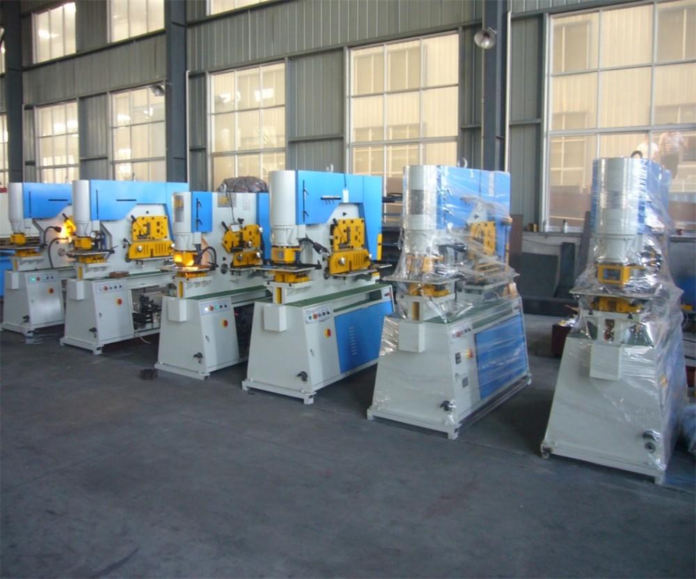 hydraulic Q35y iron worker machine 30 ton pressing machine with discount