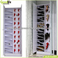 Double door elegant shoes rack with mirror made in China