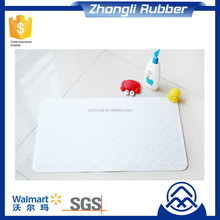 Non slip Silicone Bath Mat Anti-bacterial Popular In Europe Regular Size For Bathtub