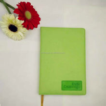 Spring fabric covered notebook