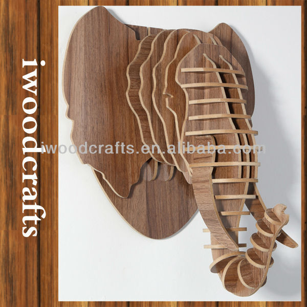 2016 New thai decoration , Elephant decoration,thai wooden decorative items,iw9898007-4