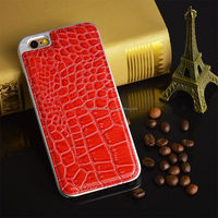 2014 Hot Hybrid Leather And Plastic Accessories For Iphone 6 Case 4.7''
