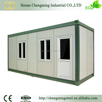 Earthquake Resistant solid movable standard shiping cotnainer prefab container