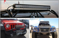 Wholesale 40 inch curved off road 240w driving color changing 288w 50 inch curved led light bar