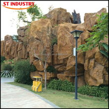 Manufactured Decorative garden artificial solid surface rockery stone