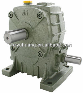 WPA Chinese cast iron worm gear reducer /small marine gearbox