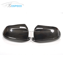 Carbon fiber rear view side mirror cover for BMW F10