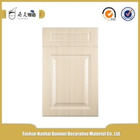 High gloss white wood grain sublimation moisture resistant mdf board