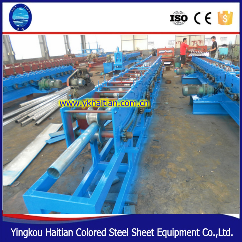 low price strut channel roll forming machine downspouts forming machine for sale