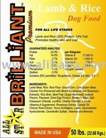 Brilliant Premium Lamb & Rice Dog Food