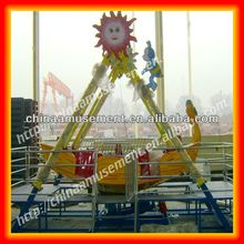 Small investment profitable amusement rides mini pirate ship for kids