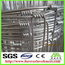 Hot Sale galvanized grassland fence/ Cheap Cattle Fence