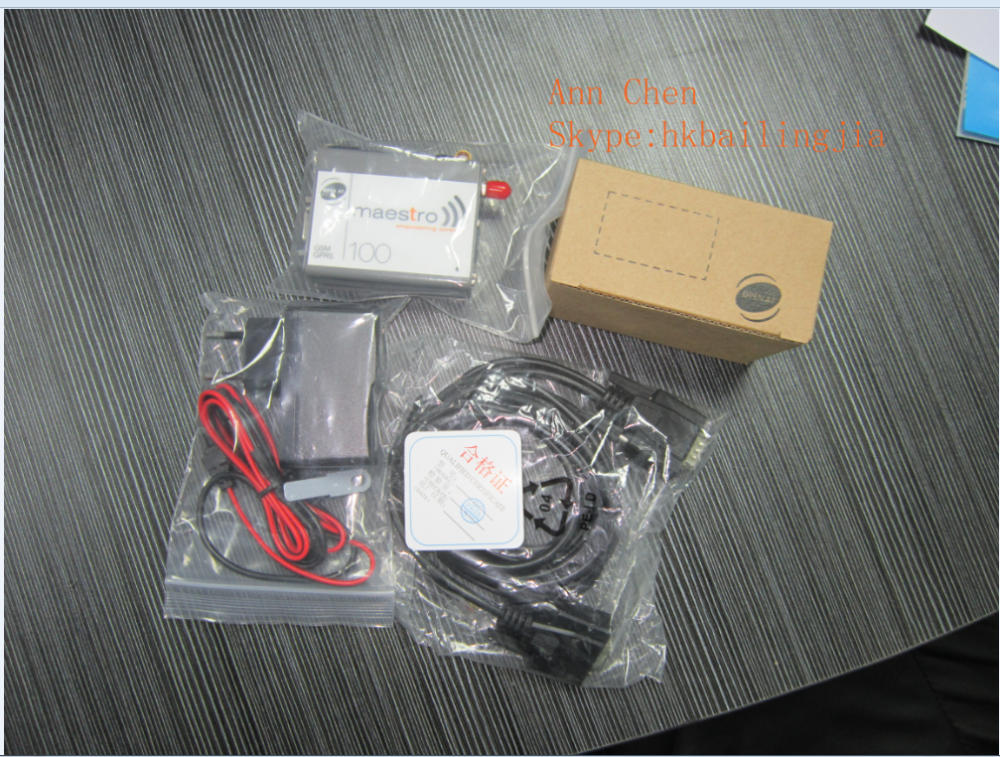 Professional STK For Mobile Recharge GSM/GPRS Maestro M100 2G Modem RS232, support at commands